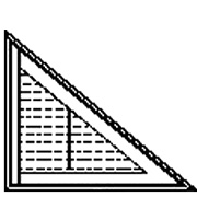 Triangle Window Shutter Shape