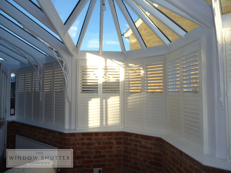 Conservatory shutters Tonbridge 1