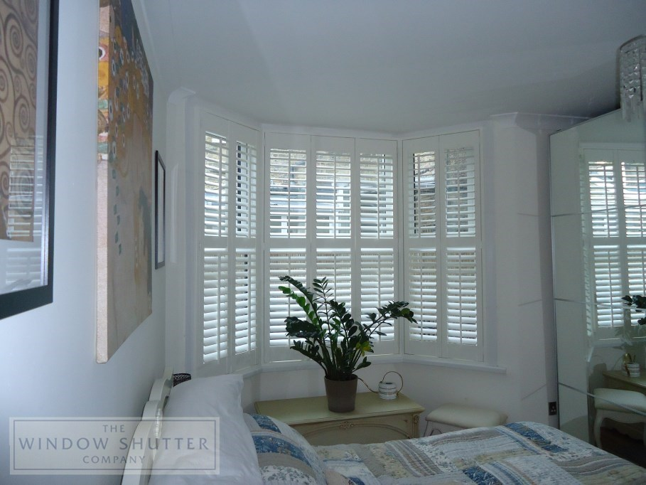 Window Shutters To Suit Bay Windows And