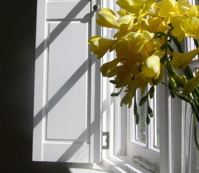 Solid shutters The Window Shutter Company
