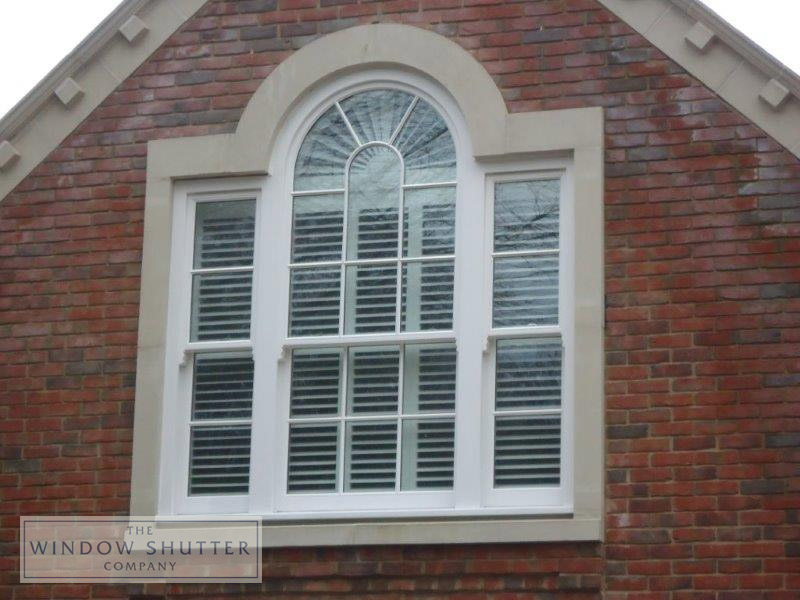 Shaped shutter by The Window Shutter Company