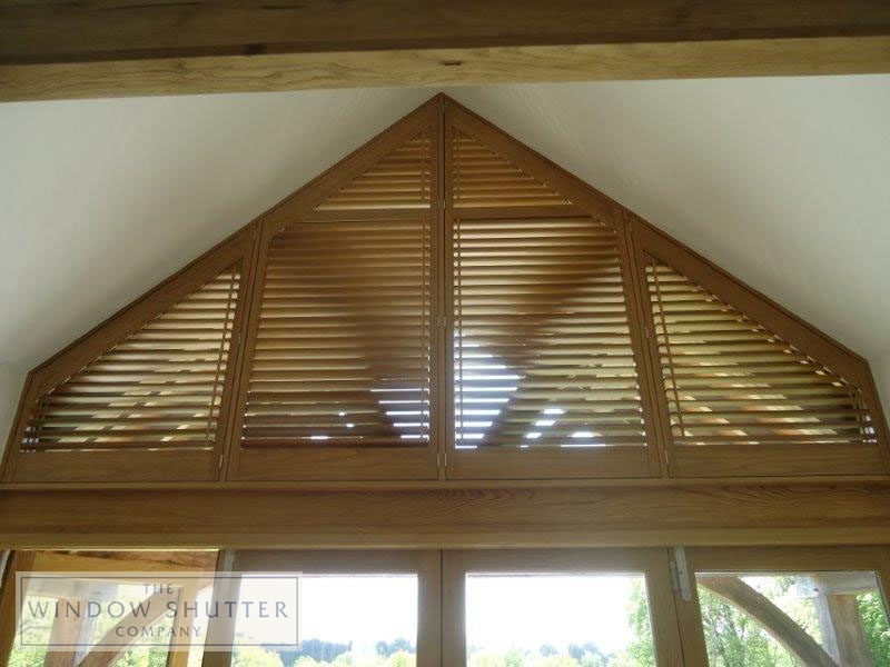 Shaped shutters Sussex