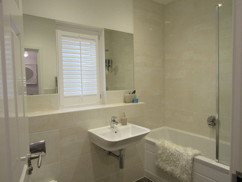 Bathroom shutters Horsham