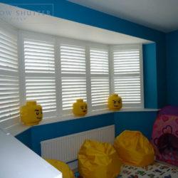 Full height shutter Georgia easy tilt nursery childs bedroom modern house Daventry Northamptonshire 1 2014