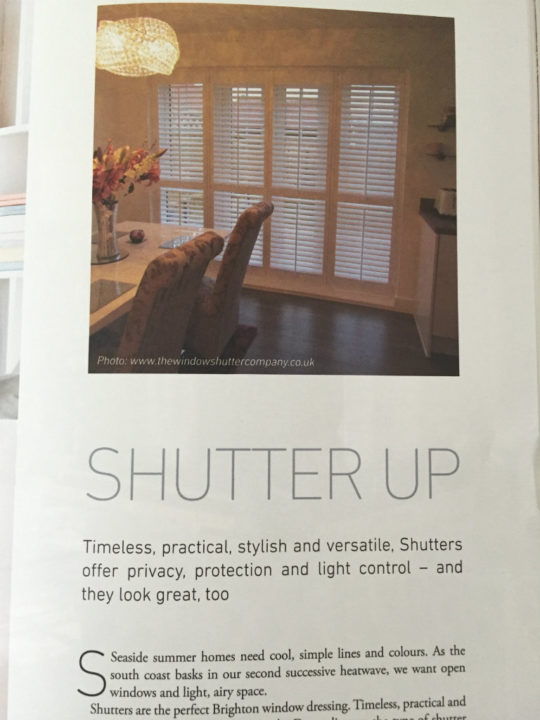 Portfolio magazine August 2017 inside spread left