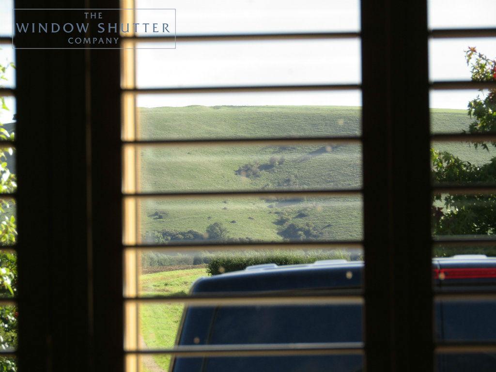 Full height shutter Boston Premium easy tilt bedroom barn conversion Henfield West Sussex 9 0917