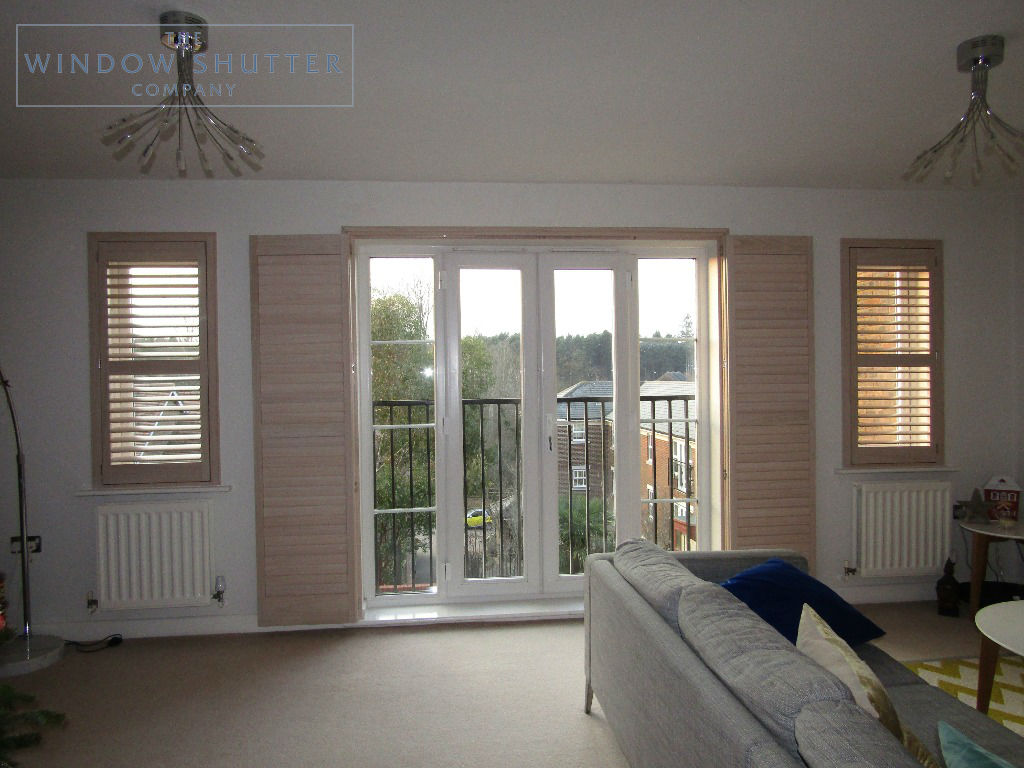 Shutter solutions French and patio doors hardwood 1