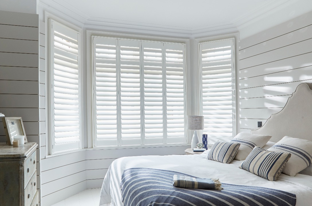 Seattle pure white shutters