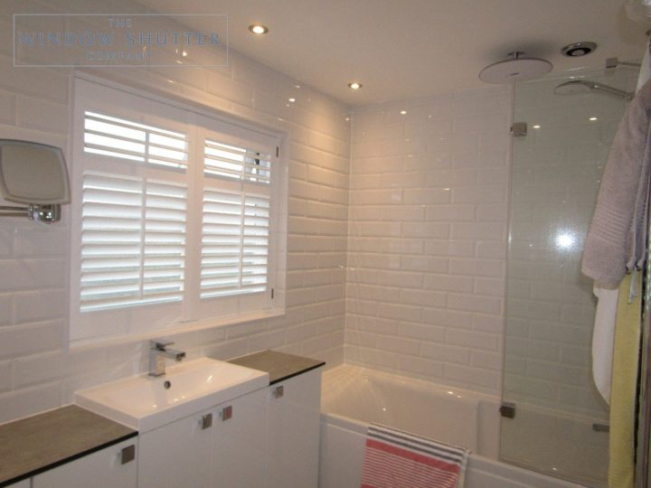 Full height shutter Hollywood hidden tilt bathroom Lindfield
