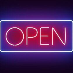 COVID-19 updates, open