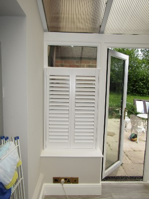Shutters by room, conservatory