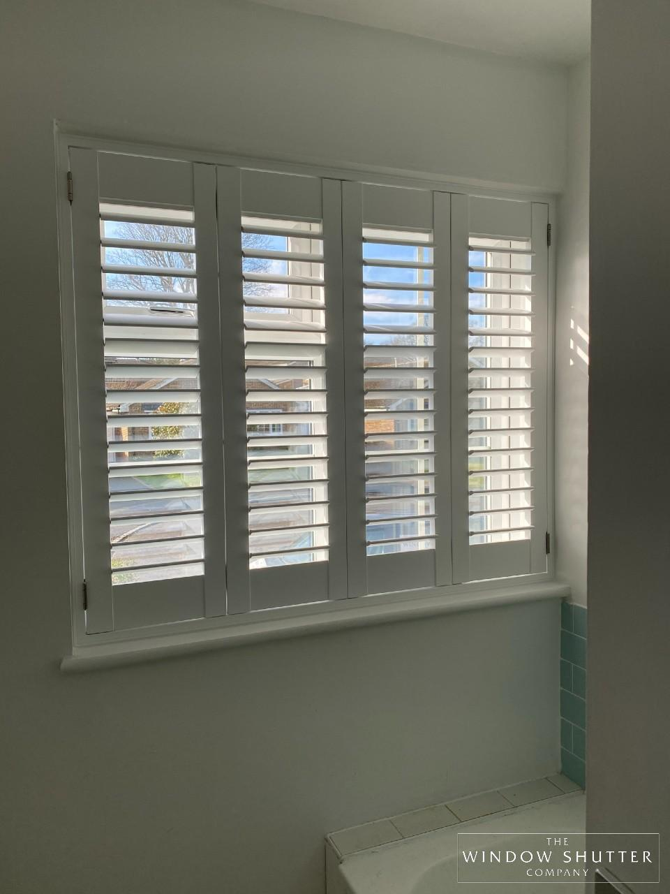 Full height shutters, waterproof