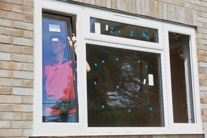 Replacing windows before installing shutters