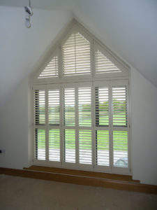 Shaped Shutters in Sussex