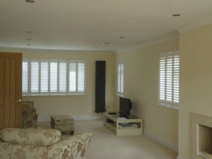 Full height shutters in Shoreham