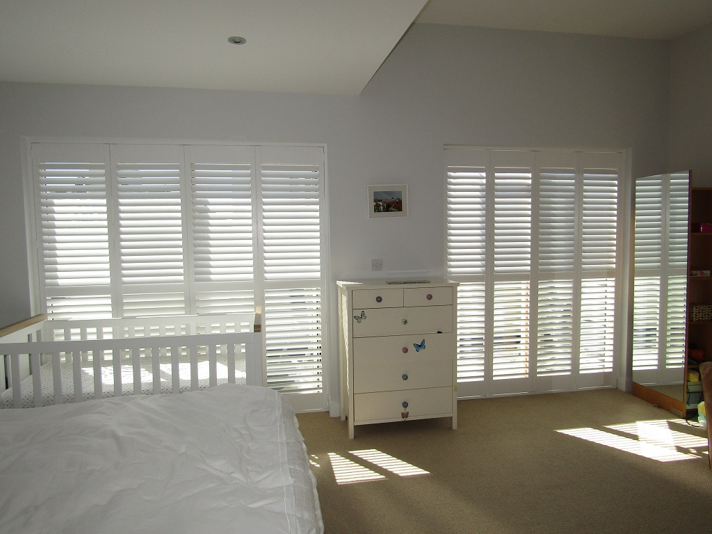a wooden perfect blinds interior the for image bay window and shutters windows