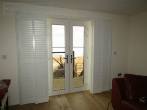 Full height shutters for Tonbridge townhouse