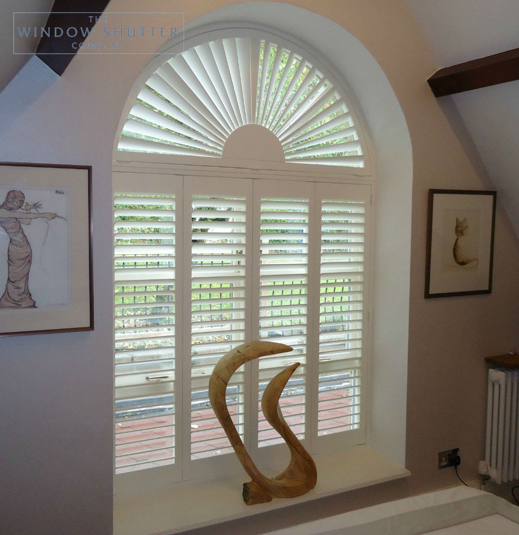 How to measure window shutters shaped