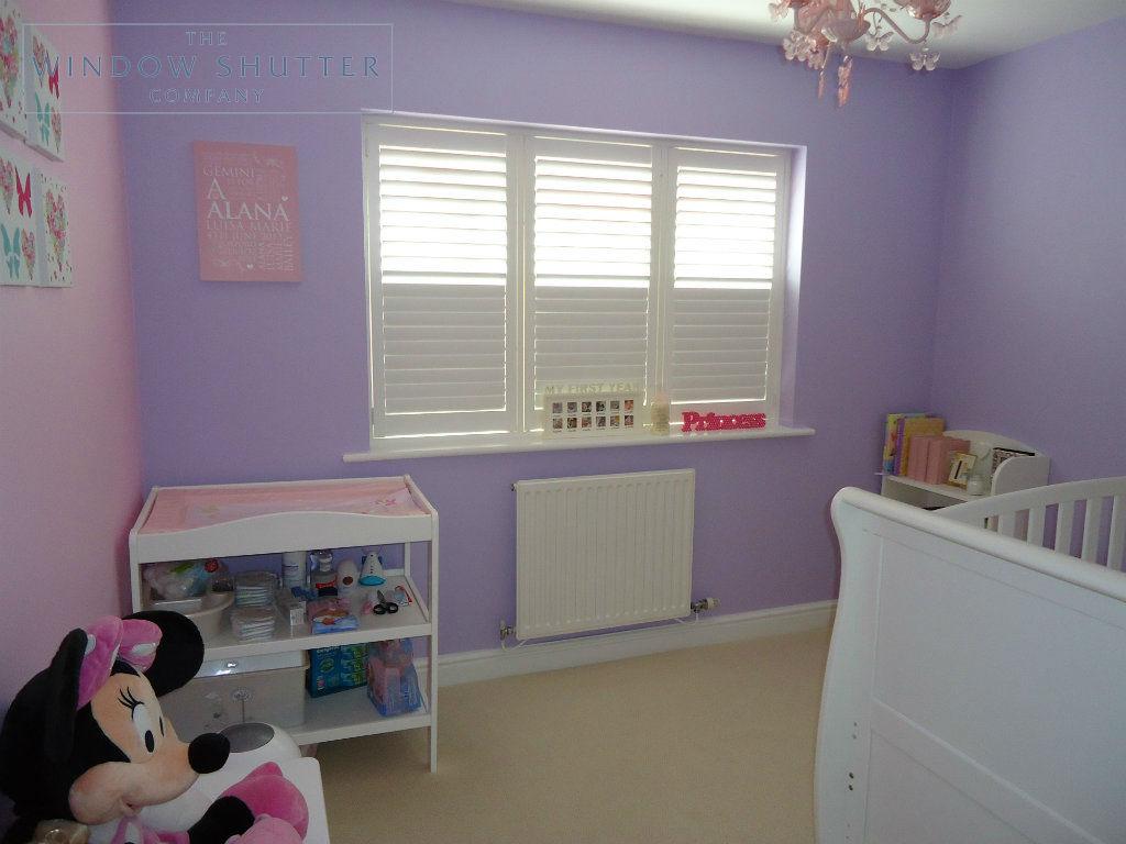 Full height shutter Georgia easy tilt nursery childs bedroom modern house Daventry Northamptonshire 2 2014