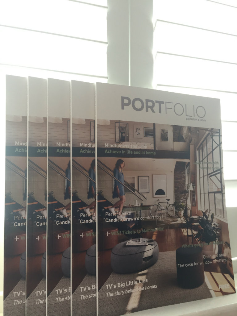 Portfolio magazine August 2017 copies