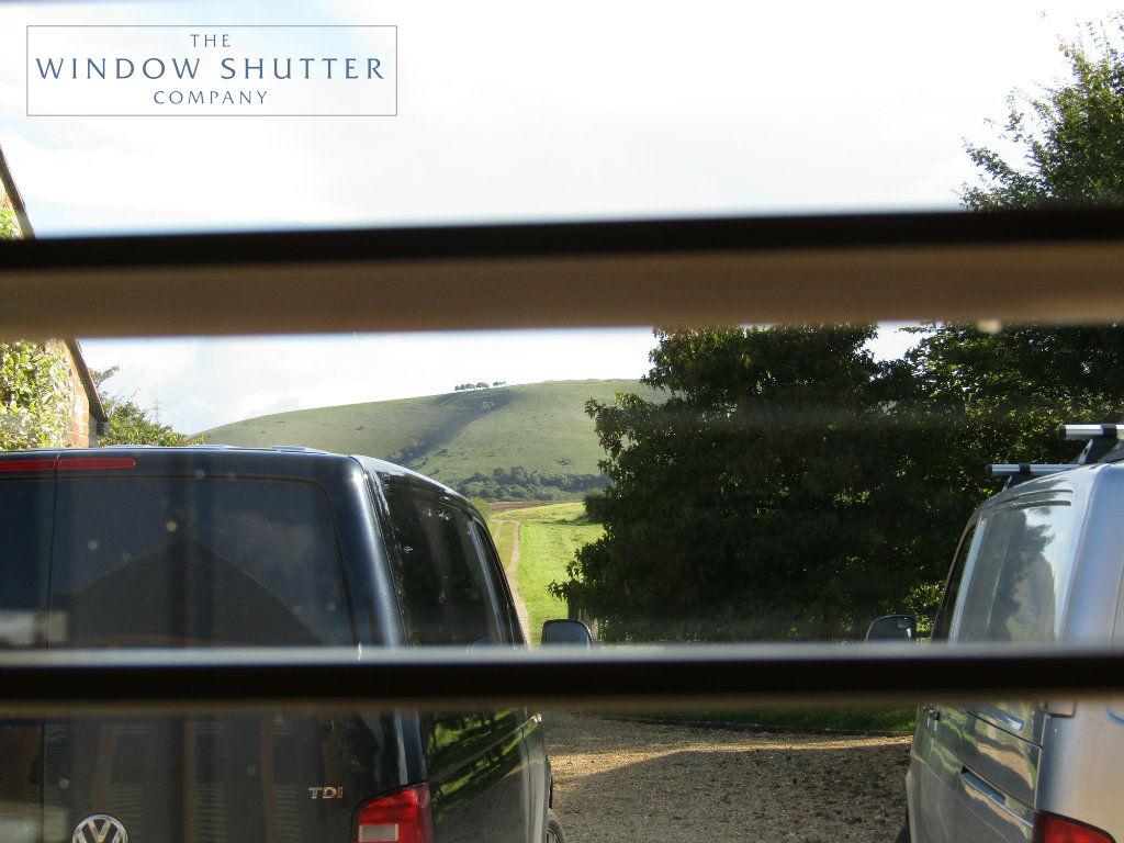 Full height shutter Boston Premium easy tilt bedroom barn conversion Henfield West Sussex 6 0917