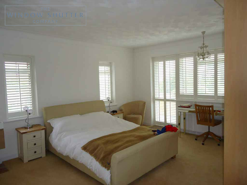 Full Height shutter Seattle tilt rod bedroom large house Fareham Hampshire 3 0610