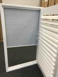 Shutter solutions window blackout integrated with blind 1
