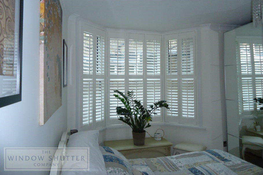 Shutter styles bay windows