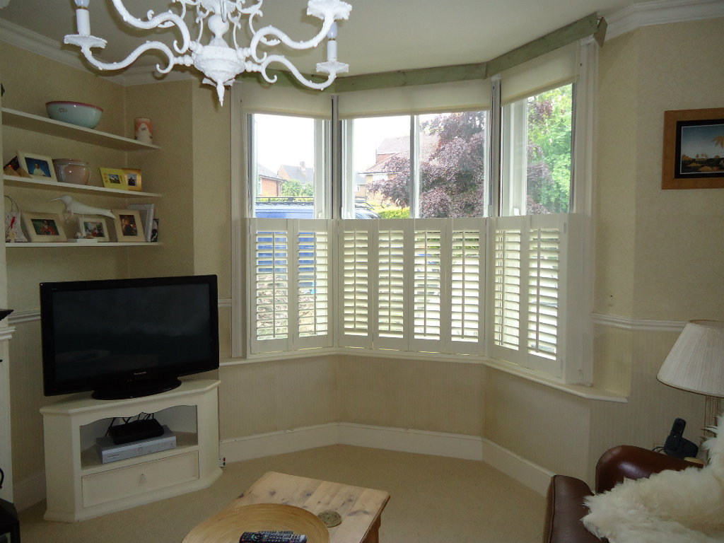 Shutter solutions sash windows café style