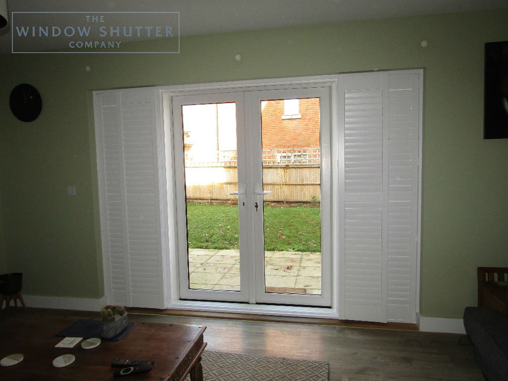 Shutter solutions French and patio doors MDF HH 1