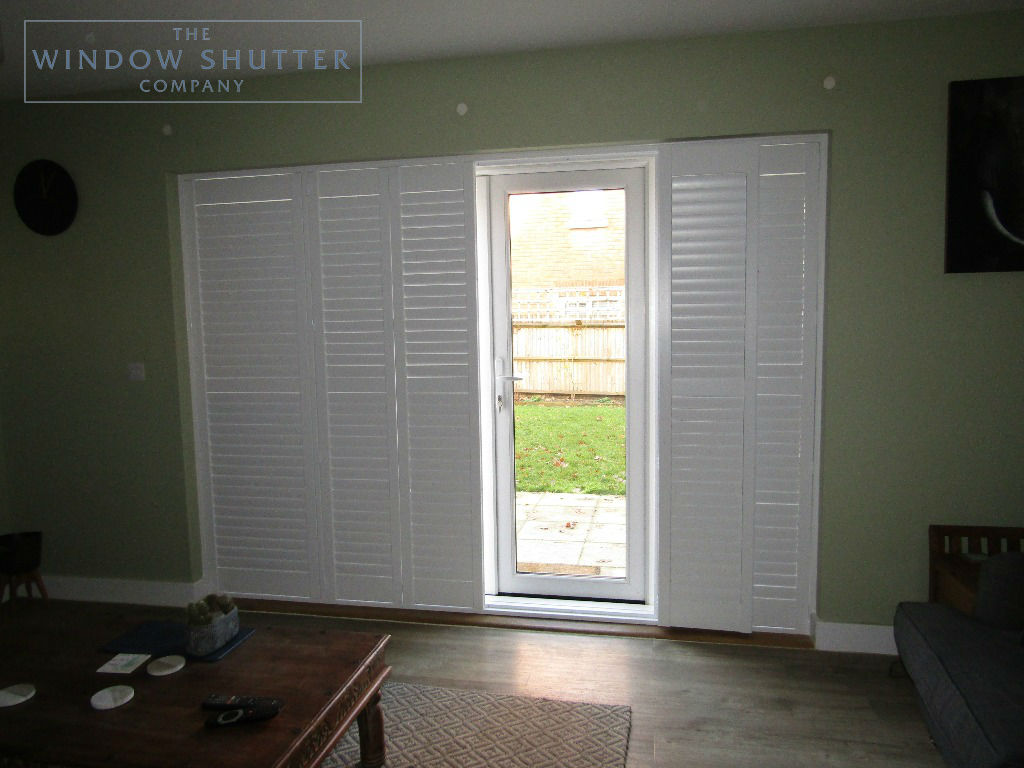 Shutter solutions French and patio doors MDF HH 2