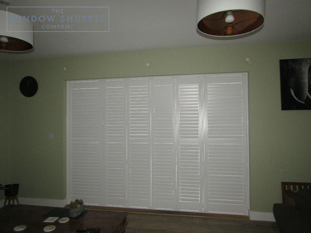 Shutter solutions French and patio doors MDF HH 3