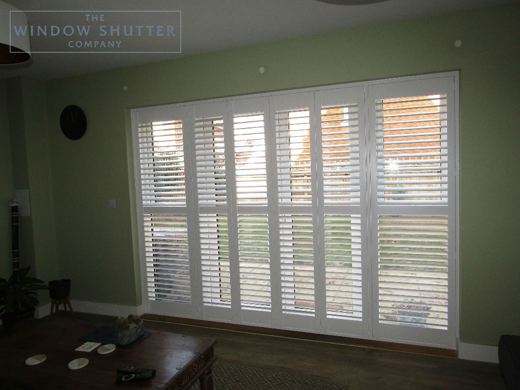 Shutter solutions French and patio doors MDF HH 5