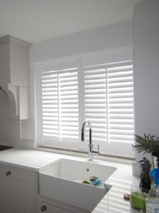 Shutter solutions reducing heat gain