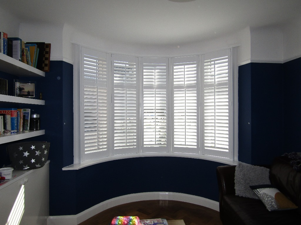 Shutter solutions reducing heat gain style full height