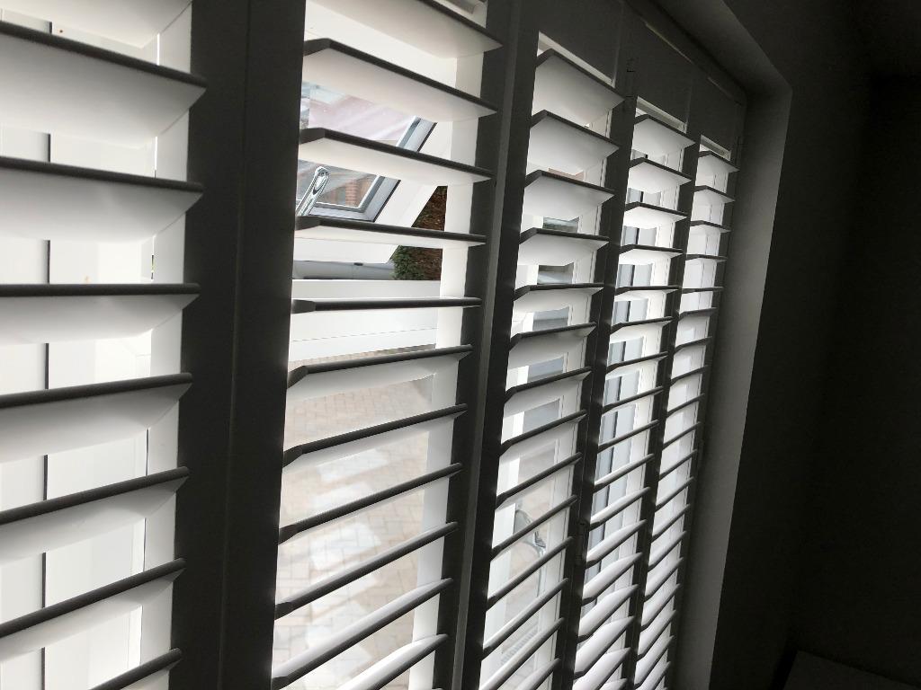 Shutter solutions reducing heat gain ventilation