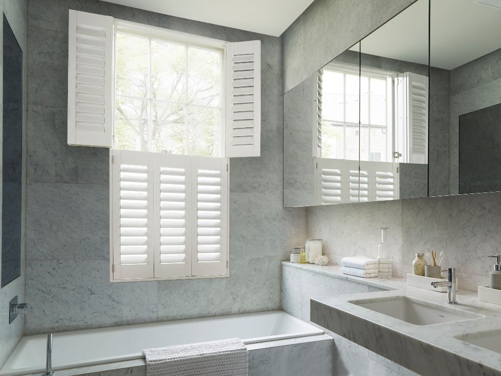 Hollywood waterproof shutters pure white
